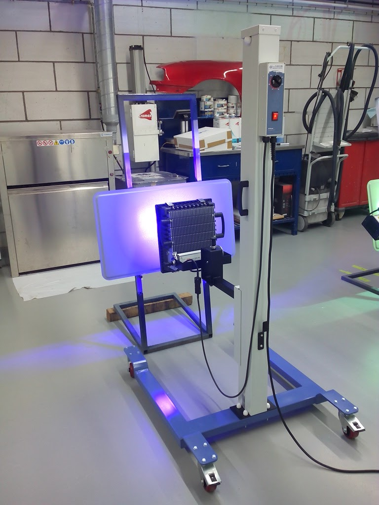 Cromax UV Led test Axalta 1