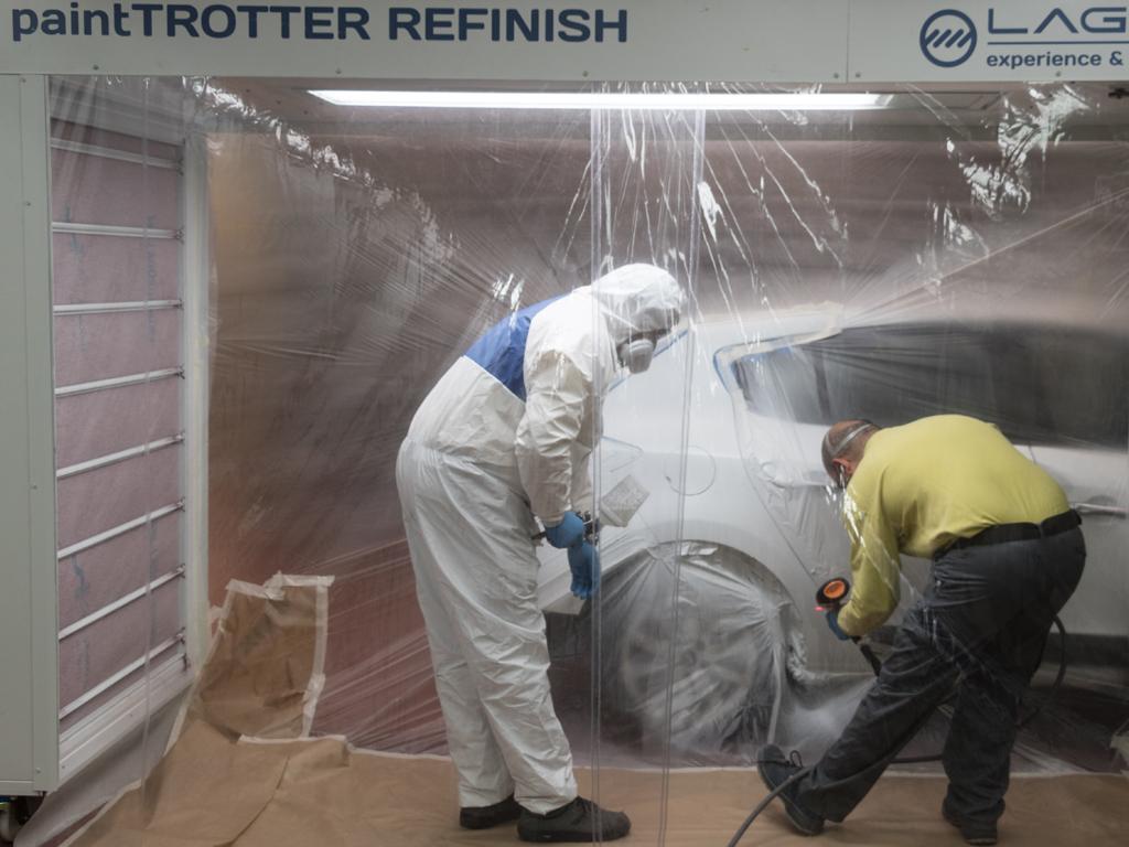 painttrotter refinish test