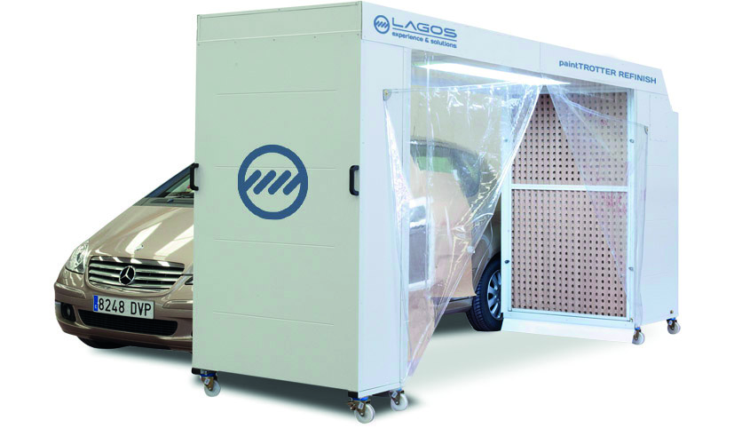 paintTROTTER mobile spray booth