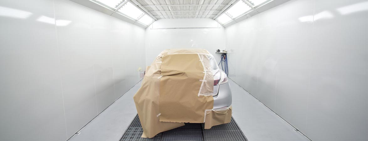 Preparar un carro para el pintado